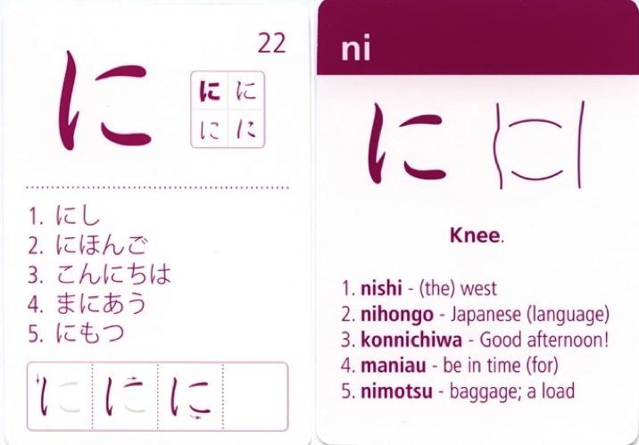photograph about Hiragana Flash Cards Printable identified as Guides NIHONGO ICHIBAN